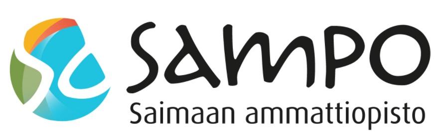 Logo: Etelä-Karjalan koulutuskuntayhtymä/Saimaan ammattiopisto Sampo